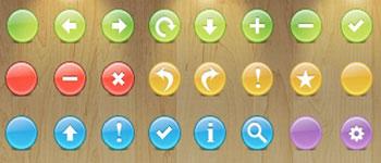 Скачать Buttons Toolbar icons