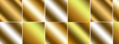 Скачать Golden Metal Gradients