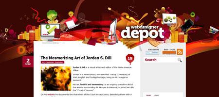 Перейти на Webdesigner Depot