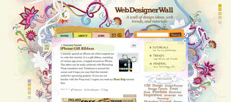 Перейти на Webdesigner Wall