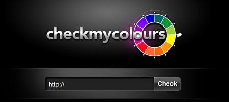 Перейти на Check My Colours