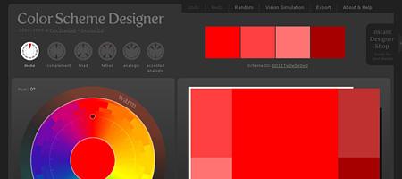 Перейти на Color Scheme Designer