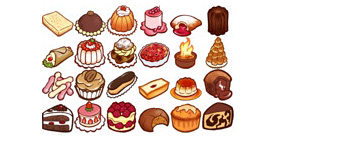 Скачать La Patisserie Icon Set Macpc