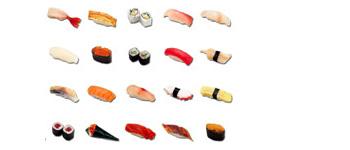Скачать Sushi Icon Set