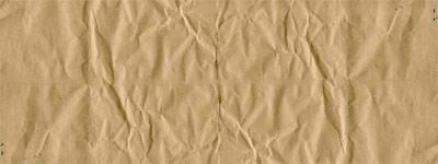 Скачать Wrinkled brown paper texture