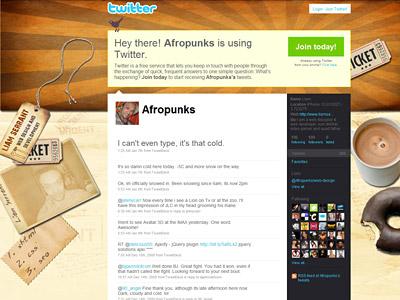 Перейти на Afropunks