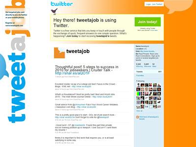 Перейти на Tweetajob
