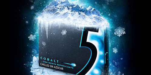 Wrigleys 5 (Cobalt)
