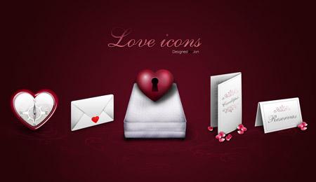 Скачать Love Icons