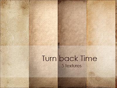 Скачать Turn back time texture pack