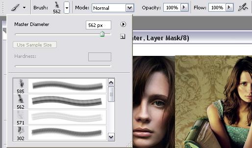 Делаем плавный переход между картинками в коллаже с помощью Layer Mask
