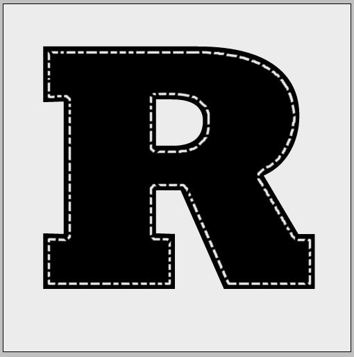 Создаем текст с реалистичной джинсовой текстурой и белой отстрочкой
