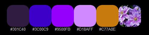 Цветочная палитра 1