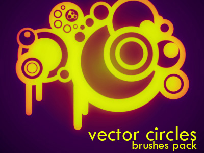 Скачать Vector Circles brushes