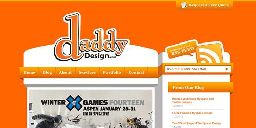 Перейти на Daddydesign
