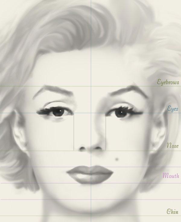 Как правильно нарисовать лицо человека