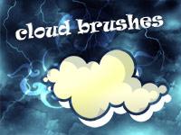 Скачать 21 набор симпатичных кистей с изображениями облаков и неба