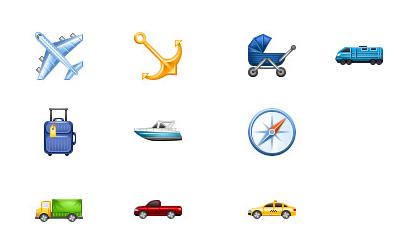 Скачать Perfect Transport Icons by Aha-Soft