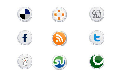 Скачать Social Button Icons