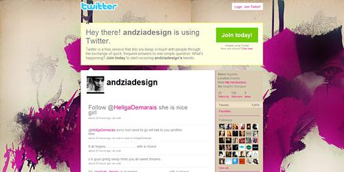 Перейти на @andziadesign