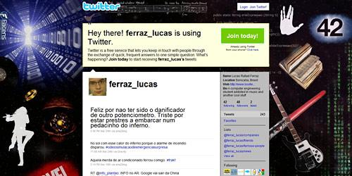 Перейти на @ferraz_lucas
