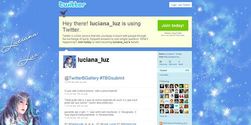 Перейти на @luciana_luz