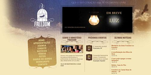 Перейти на Ministerio de artes freedom