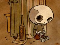 Кошмарики для маленьких или черный юмор от художника Nocturnal Devil