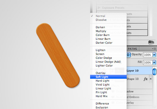 Создаем в фотошопе декоративный текст из деревянных палочек