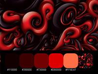 20 готовых цветовых палитр с насыщенных работ дизайнера Alex Trochut
