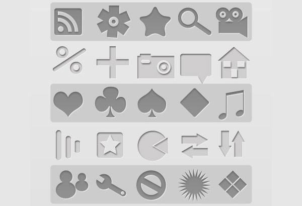 Скачать 330 Free Letter Pressed Icons