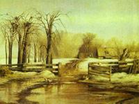 Лирическое настроение русского пейзажа на картинах Алексея Саврасова