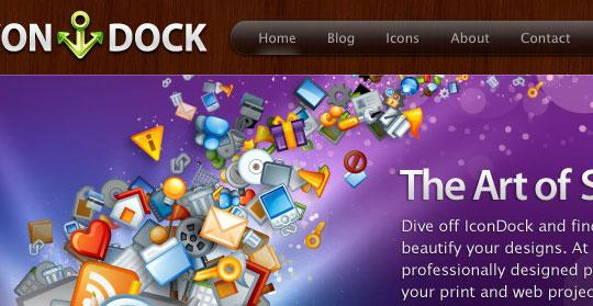 Перейти на Icon Dock