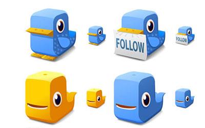 Скачать Twitter Block Icons