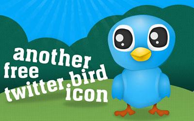Скачать Tweet Tweet Cute Tweet: Another Free Twitter Bird Icon