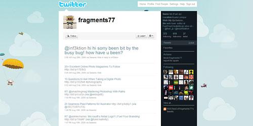 Перейти на @fragments77