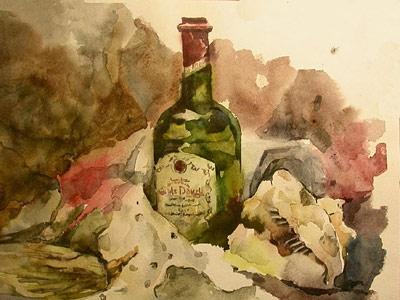 Фаня Багинская натюрморт с раковиной