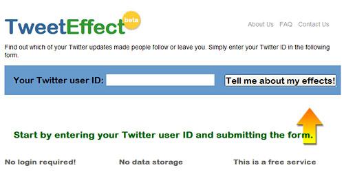 Перейти на Tweet effect