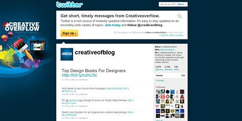 Перейти на @creativeofblog