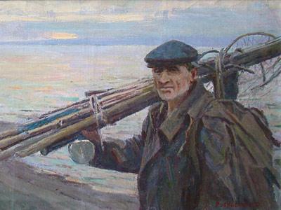Рубинский Игорь. Рыбак