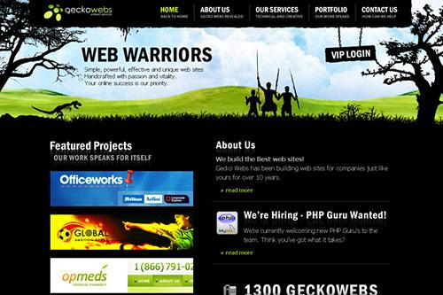 Перейти на Geckowebs
