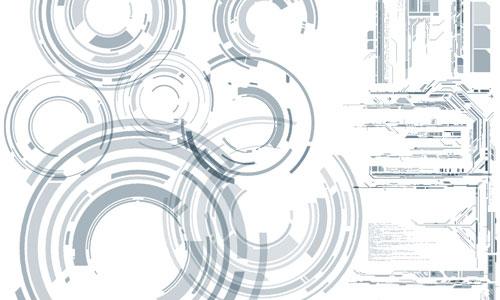 Скачать Z Design Tech Brushes Set V2