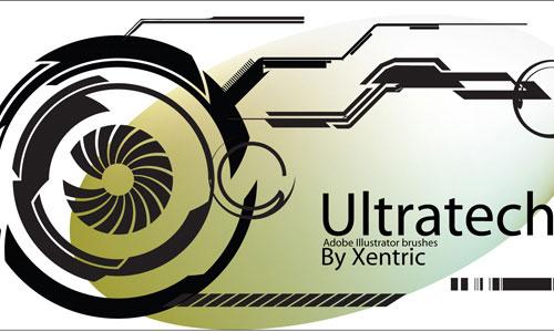 Скачать Ultratech Brushes