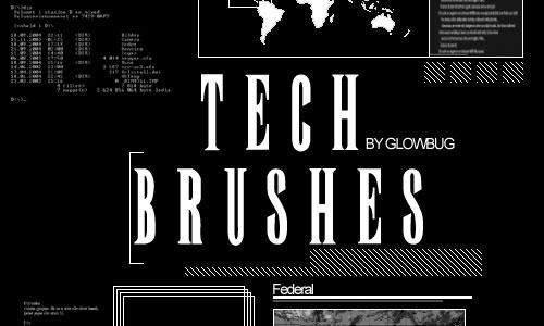 Скачать Tech Brushes V
