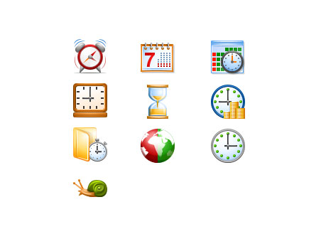 Скачать Perfect Time Icons by Aha-Soft