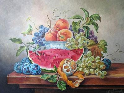 Гордеева Мария (gordeeva)/Натюрморт с фруктами