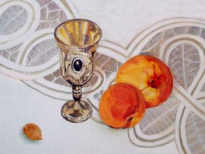 Тригуб Владимир (Vladimir_Trigub)/Натюрморт с абрикосами