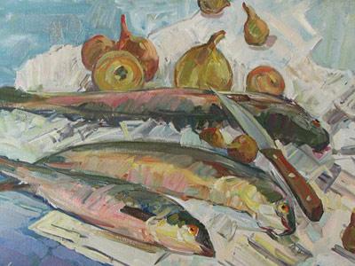 Жукова Юлия (painter)/Уха