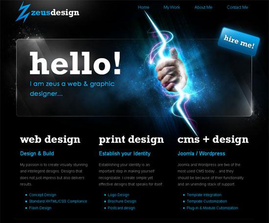 Перейти на Zeus Web Designs