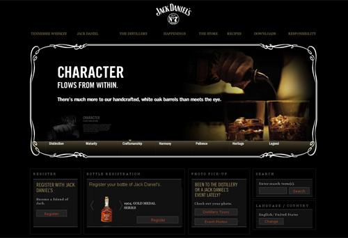 Перейти на Jack Daniels' Whiskey